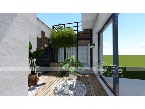 积水住宅屋顶花园改造